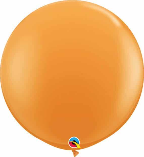 3' 91cm Standard Orange Qualatex #42736-1