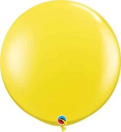3' 91cm Transparent Citrine Yellow Qualatex #43106-1