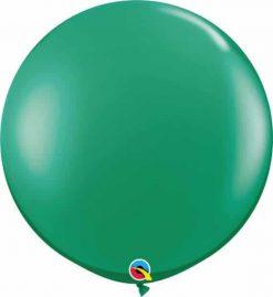 3' 91cm Transparent Emerald Green Qualatex #43002-1