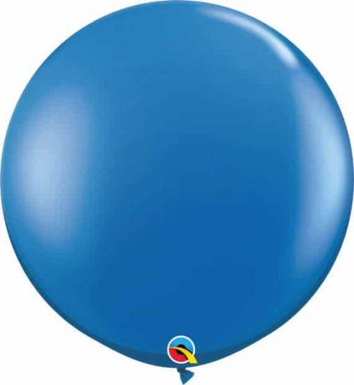 3' 91cm Transparent Sapphire Blue Qualatex #42876-1