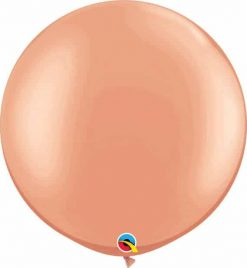 30 76cm Metallic Rose Gold Qualatex #57344-1