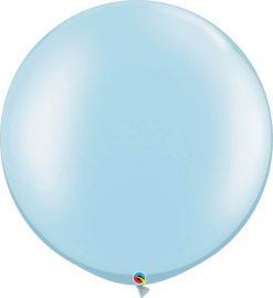 30 76cm Pearl Light Blue Qualatex #39882-1