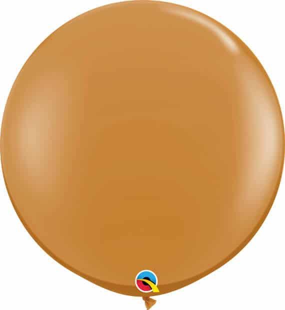 3' / 91cm Fashion Mocha Brown Qualatex #44564-1