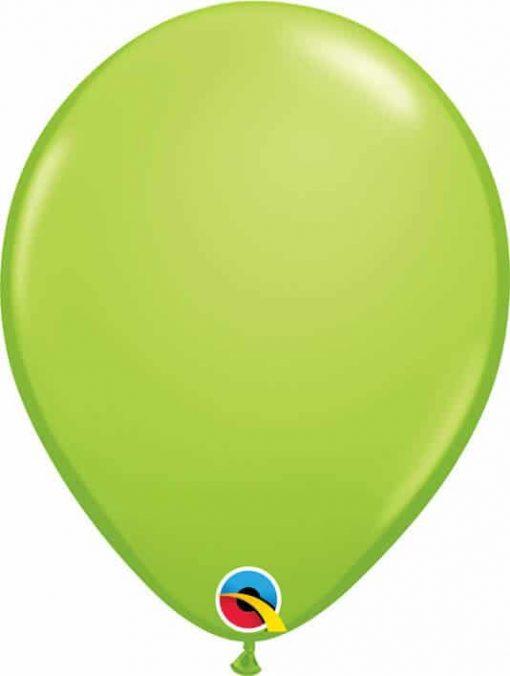 """11"""" / 28cm Fashion Lime Green Qualatex #48955-1"""