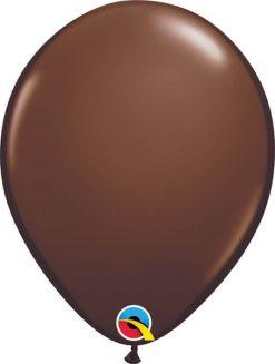 "11"" / 28cm Fashion Chocolate Brown Qualatex #68778-1"