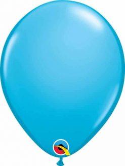 "11"" / 28cm Fashion Robin's Egg Blue Qualatex #82685-1"