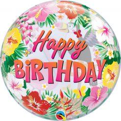 22″ / 56cm Tropical Birthday Party Qualatex #87740