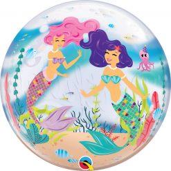 "22"" / 56cm Mermaid Birthday Party Qualatex #87741"