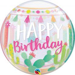 """22"""" / 56cm Llama Birthday Party Qualatex #87742"""
