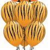 Bukiet 719 Tickled Tiger Stripes Qualatex #16189 37043-6