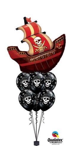 Bukiet 734 Set Sail Pirate Qualatex #16439 17939-6
