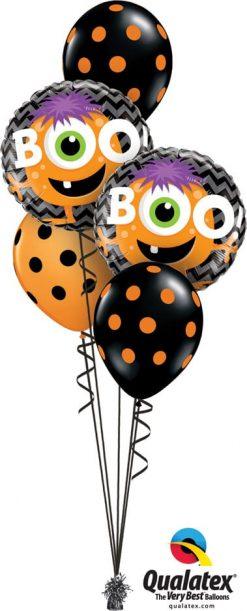 Bukiet 729 Boo! Halloween Monster Qualatex #18491-2 38470-3
