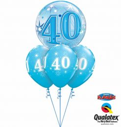 Bukiet 758 Fabulous 40 Qualatex #48445 53465-3