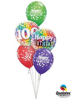 Bukiet 752 One Happy Century Qualatex #49496 49565 52975-3