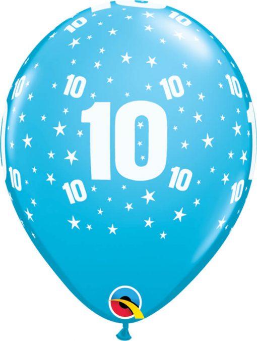 "11"" / 28cm Star #10 A Round Tropical Asst. Qualatex #50848-1"