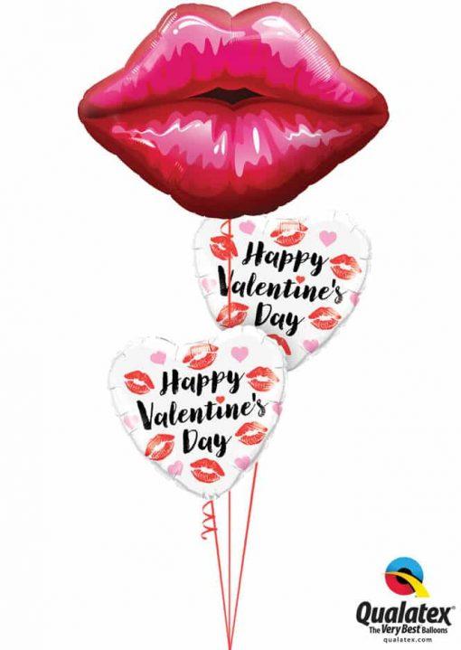 Bukiet 777 Pucker Up Valentine's Qualatex #16451 78547-2