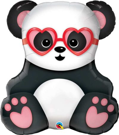32″ / 81cm Lovestruck Panda Bear Qualatex #54882