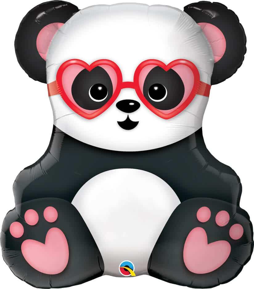 32″ / 81cm Lovestruck Panda Bear Qualatex #54882