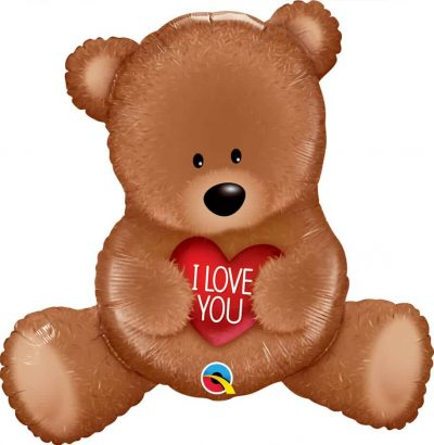 35″ / 89cm I Love You Teddy Bear Qualatex #98705