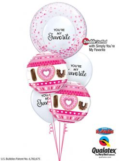 Bukiet 832 You Make Life Sweet! Qualatex #57790 21829-2 97146-3