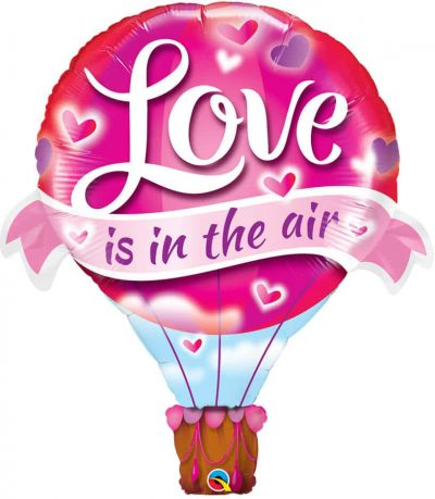 42″ / 106cm Love Is In The Air Balloon Qualatex #78529