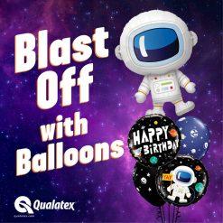 37″ / 94cm Adorable Astronaut Qualatex #87966
