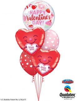 Bukiet 842 You Melt My Heart! Qualatex #97137 21823-2 85713-2