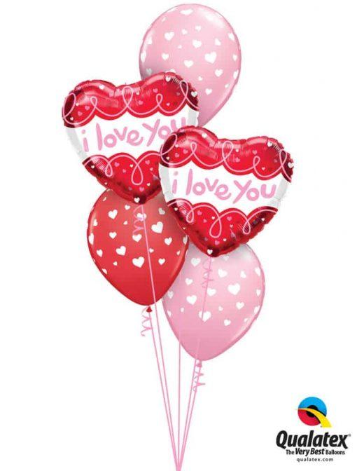 Bukiet 862 You Are My Heart Qualatex #97174-2 85713-3