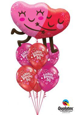 Bukiet 850 You Make My Heart Happy! Qualatex #97254 23407-6