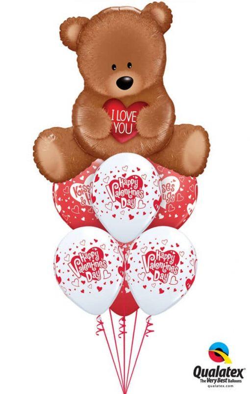 Bukiet 810 You Make My Heart Happy! Qualatex #98705 23407-6