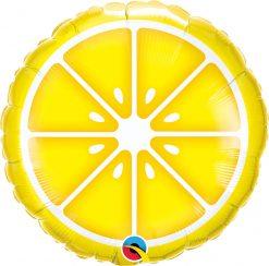 "18"" / 46cm Sliced Lemon Qualatex #10457"