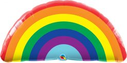 36″ / 91cm Bright Rainbow Qualatex #10493