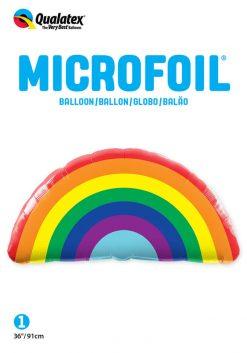 36″ / 91cm Bright Rainbow Qualatex #10493