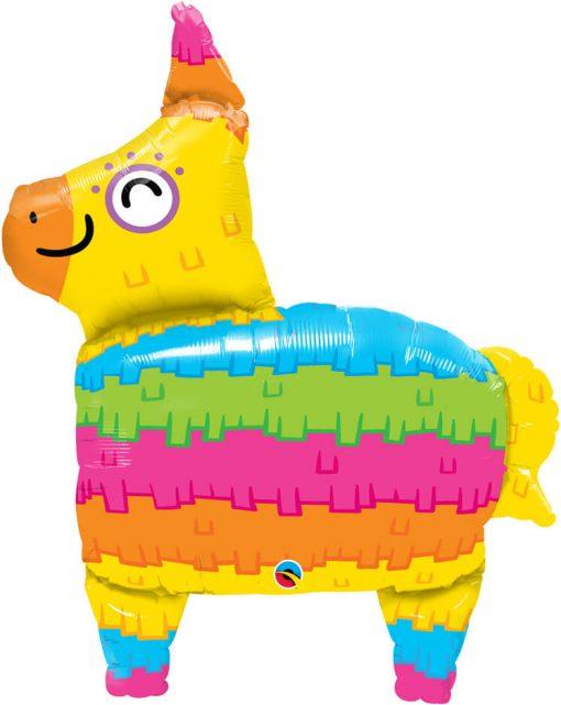34″ / 86cm Rainbow Piñata Qualatex #10511