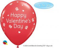 """11"""" / 28cm Me to You - Tatty Teddy Valentine's Day Red Qualatex #12407-1"""