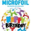 18″ / 46cm Birthday Balloon Dogs Qualatex #13306