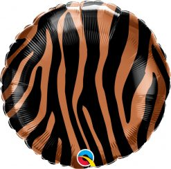 "18"" / 46cm Tiger Stripes Pattern Qualatex #13334"