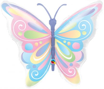 40″ / 101cm Beautiful Butterfly Qualatex #13598