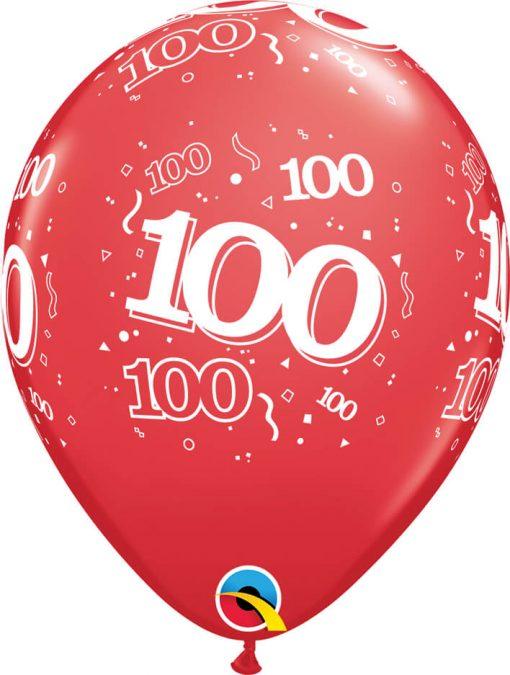 """11"""" / 28cm 6szt 100-A-Round Retail Asst Qualatex #17916"""