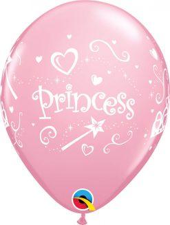 """11"""" / 28cm 6szt Princess Pink Qualatex #17938"""