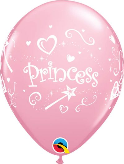 "11"" / 28cm 6szt Princess Pink Qualatex #17938"