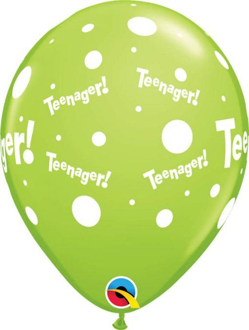 "11"" / 28cm Teenager! Tropical Asst Qualatex #47248-1"
