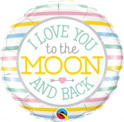 "18"" / 46cm I Love You To The Moon Qualatex #55382"