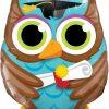 """34"""" / 86cm Graduate Owl Qualatex #55863"""