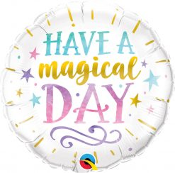 18″ / 46cm Have a Magical Day Qualatex #57262