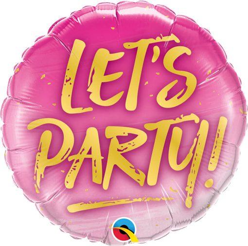 18″ / 46cm Let's Party! Qualatex #57301