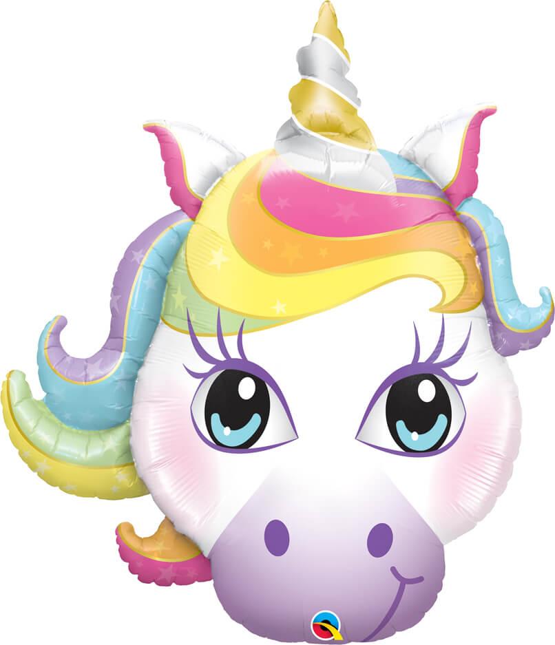 38″ / 96cm Magical Unicorn Qualatex #57352