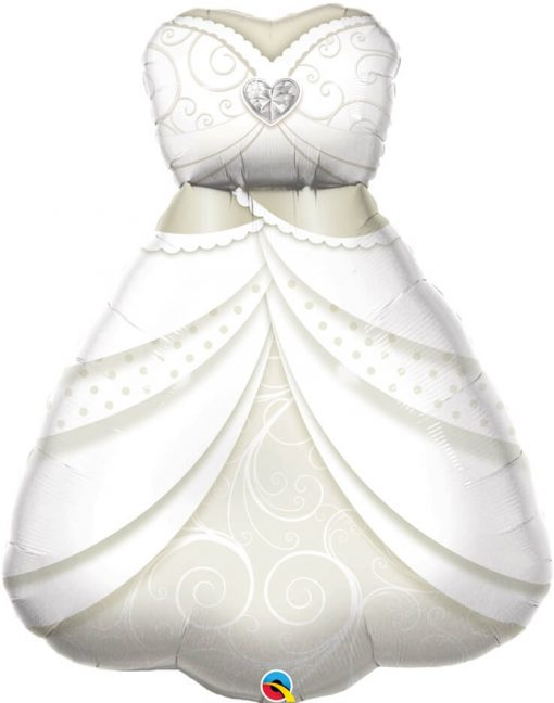 "38"" / 96cm Bride's Wedding Dress Qualatex #57367"