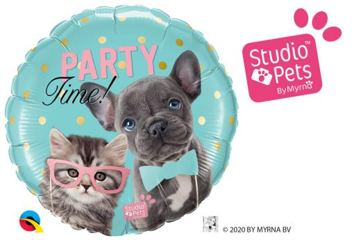 18″ / 46cm Party Time Pets Qualatex #57614