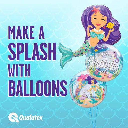38″ / 96cm Enchanting Mermaid Qualatex #57815